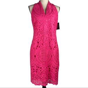NWT Alexia Admor Eyelet Lace Lined Dress Size 10